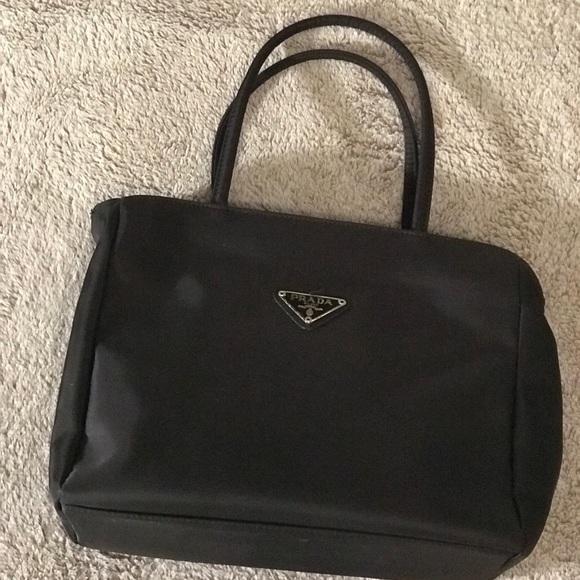 31895a82553 Bags   Prada Black Handbag   Poshmark